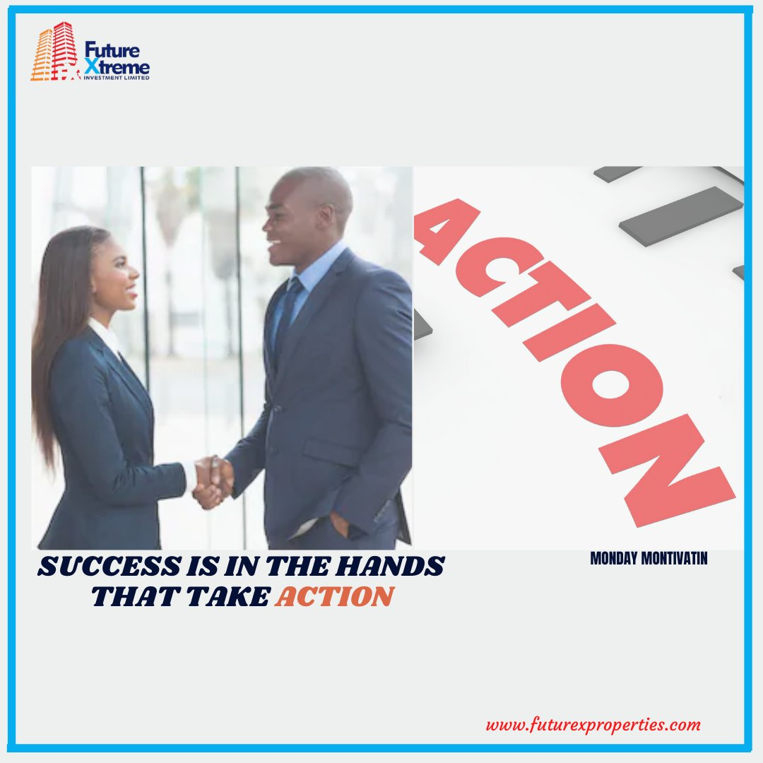 The path to success is to take massive, determined actions. #futurexproperties #realestate #investment #land #properties #MondayMotivation   #mondaythoughts  #MondayVibes