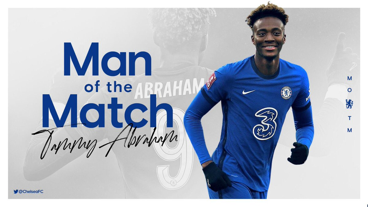 Pretty comprehensive, this one. @tammyabraham is your MOTM from our win against Luton Town 💪