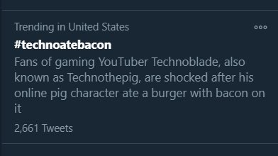 cannibalism... #technoatebacon