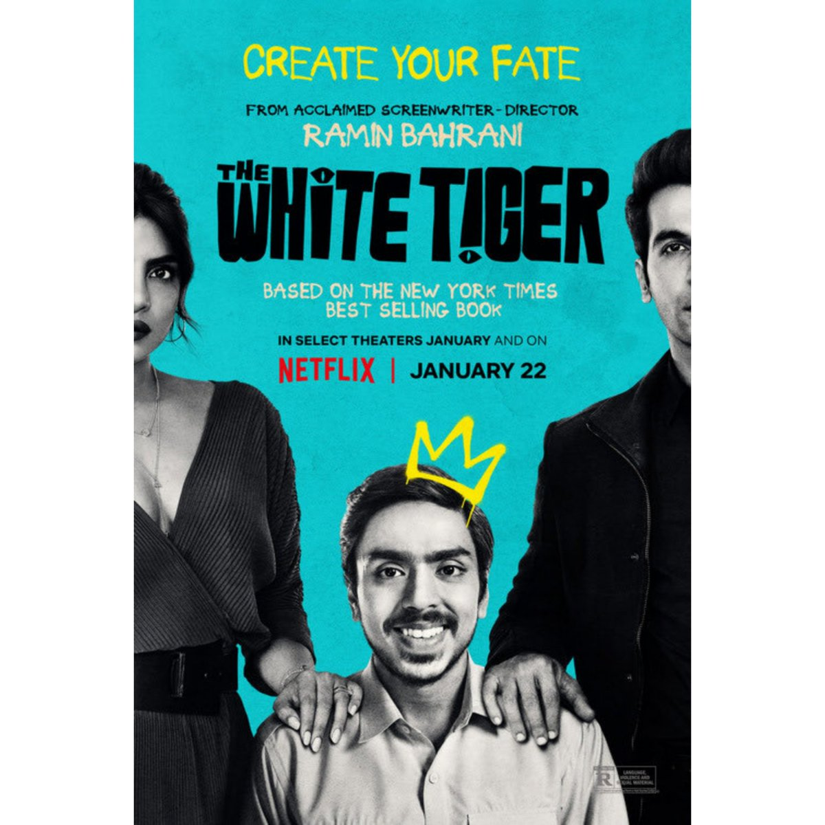 #TheWhiteTiger (Hindi) : Ideology Between Rich And Poor ! Soild Story Telling From Director Ramin Bahrani  'Adarsh Gourav' The New Star Of The Week He Dominated Whole Film By His Fascinating Acting Skills  Telugu Audio Also Available  Very Good Watch  Streaming Platform : Netflix