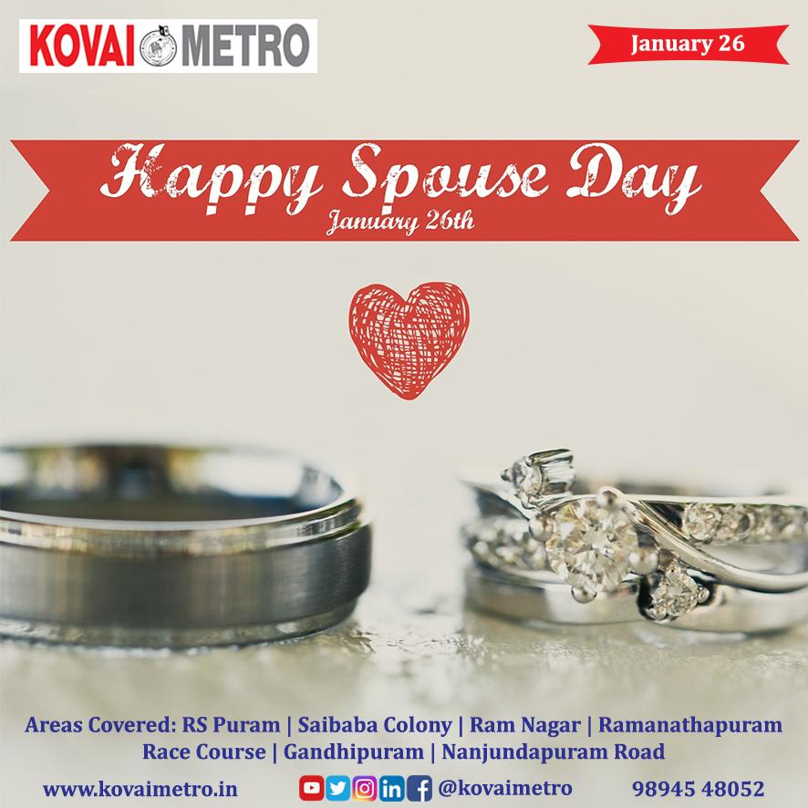#kovaimetro #coimbatore #coimbatoreweekly #kovai #january2021 #january #January26 #RepublicDay #RepublicDay2021 #RepublicDayIndia #RepublicIndia #nationalSpouseDay #love #JaiHind
