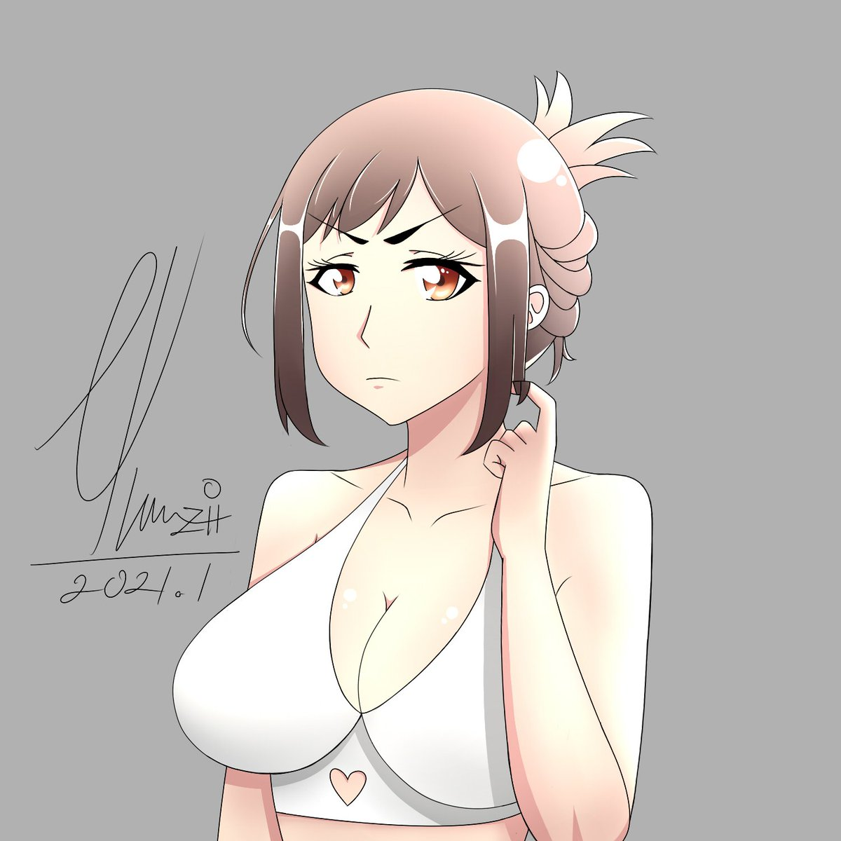 Kanna-chan XD from Nande Koko ni Sensei ga! #illustration #fanart #kanna #anime #manga #nandekokonisenseiga