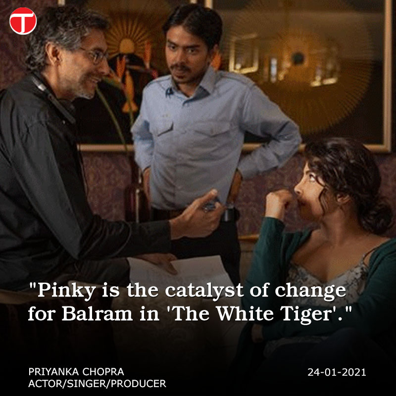 Bollywood icon Priyanka Chopra's latest film The White Tiger, which released on Netflix on January 22, has been trending globally ever since then.   #etribune #etlifeandstyle #priyankachopra #thewhitetiger #RajkummarRao #Netflix  For more: