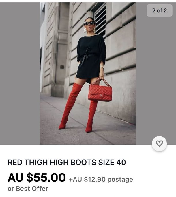 I need these boots in my life and they should be sub funded ! Beemit mistressheels 😘😘 https://t.co/9