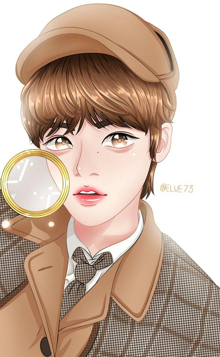 Detektive soobin 🐰 @TXT_members #TXT_수빈 #SOOBIN #fanart #TXT
