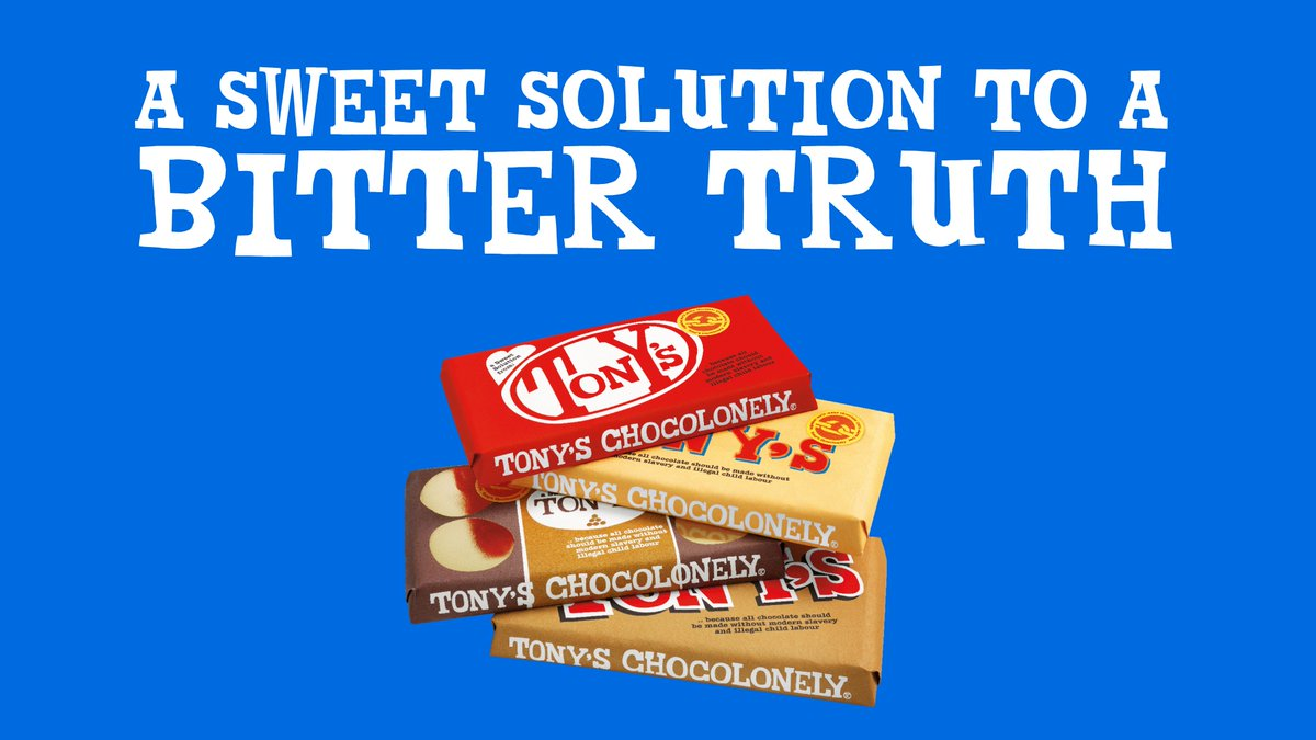 Introducing our #SweetSolution bars. They may look a lot like.. but they're made a lot different. Available from today. Want all chocolate to be made this way? Sign our petition:   #SweetSolution