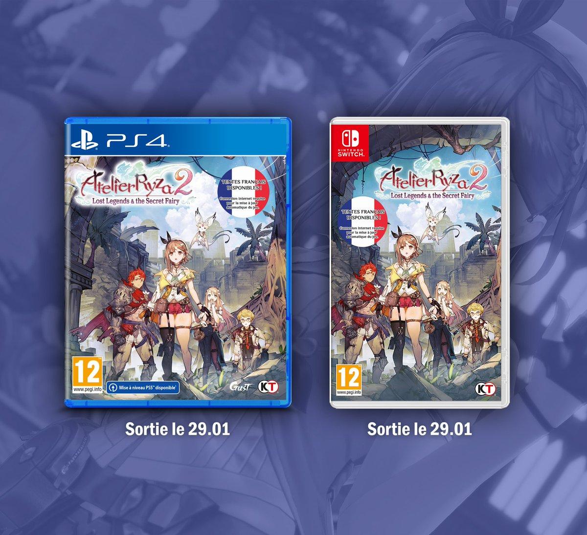 Que se passe-t-il cette semaine chez Koch Media ? #MondayMotivation  Sorties du 29/01 : 🌿 #AtelierRyza2: Lost Legends & the Secret Fairy - PS4 & Switch ⚔️ #GodsWillFall - Dématérialisé PS4, Xbox One, Switch & PC