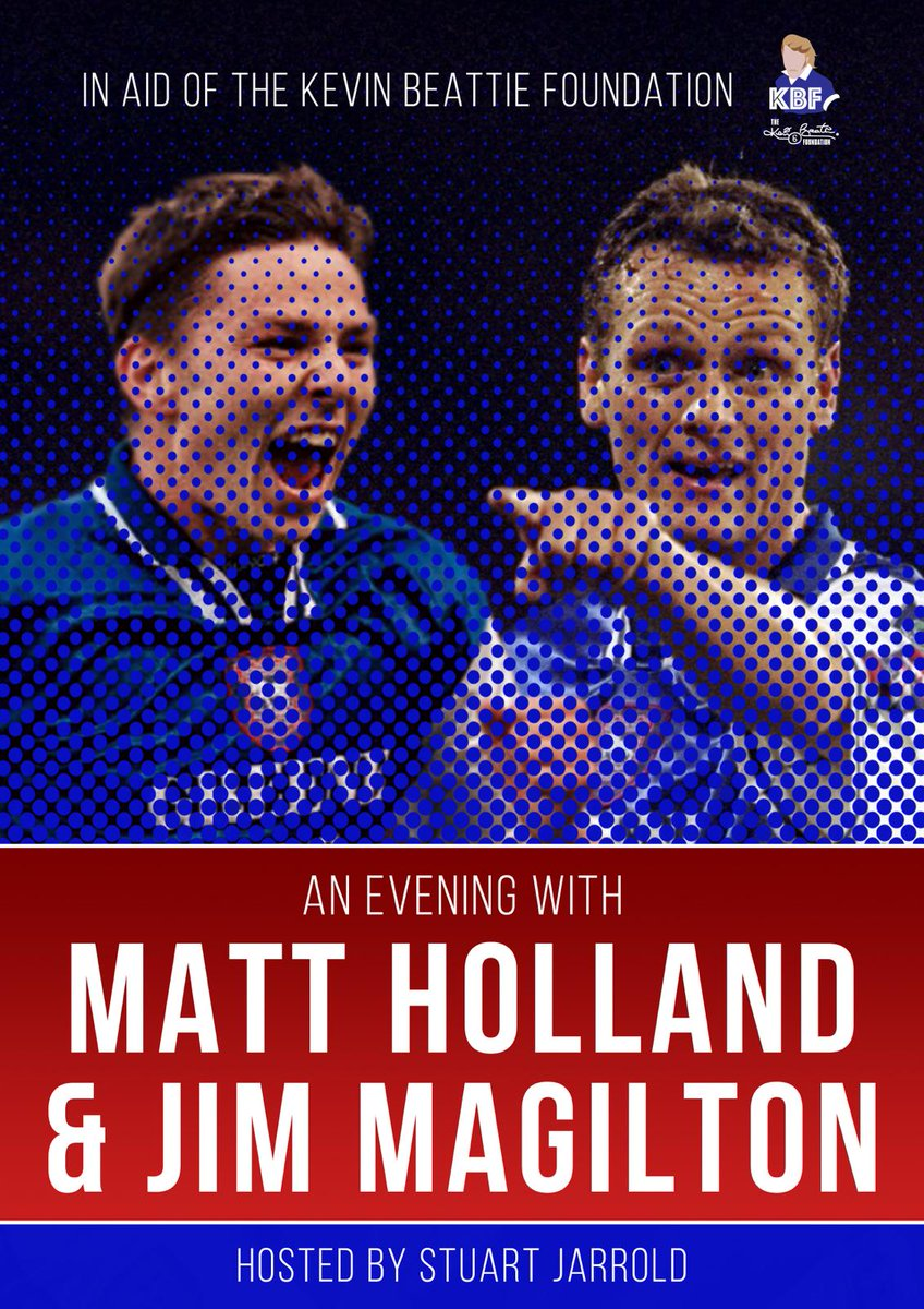 Please dont forget to follow the KBF @KevinBeattieFo1 We have some great events lined up Evening with @magilton7 and @mattholland8 3 countries walk (Germany, Holland, England) Charity Football game More which are in discussions but will be worth attending. THE BEAT GOES ON