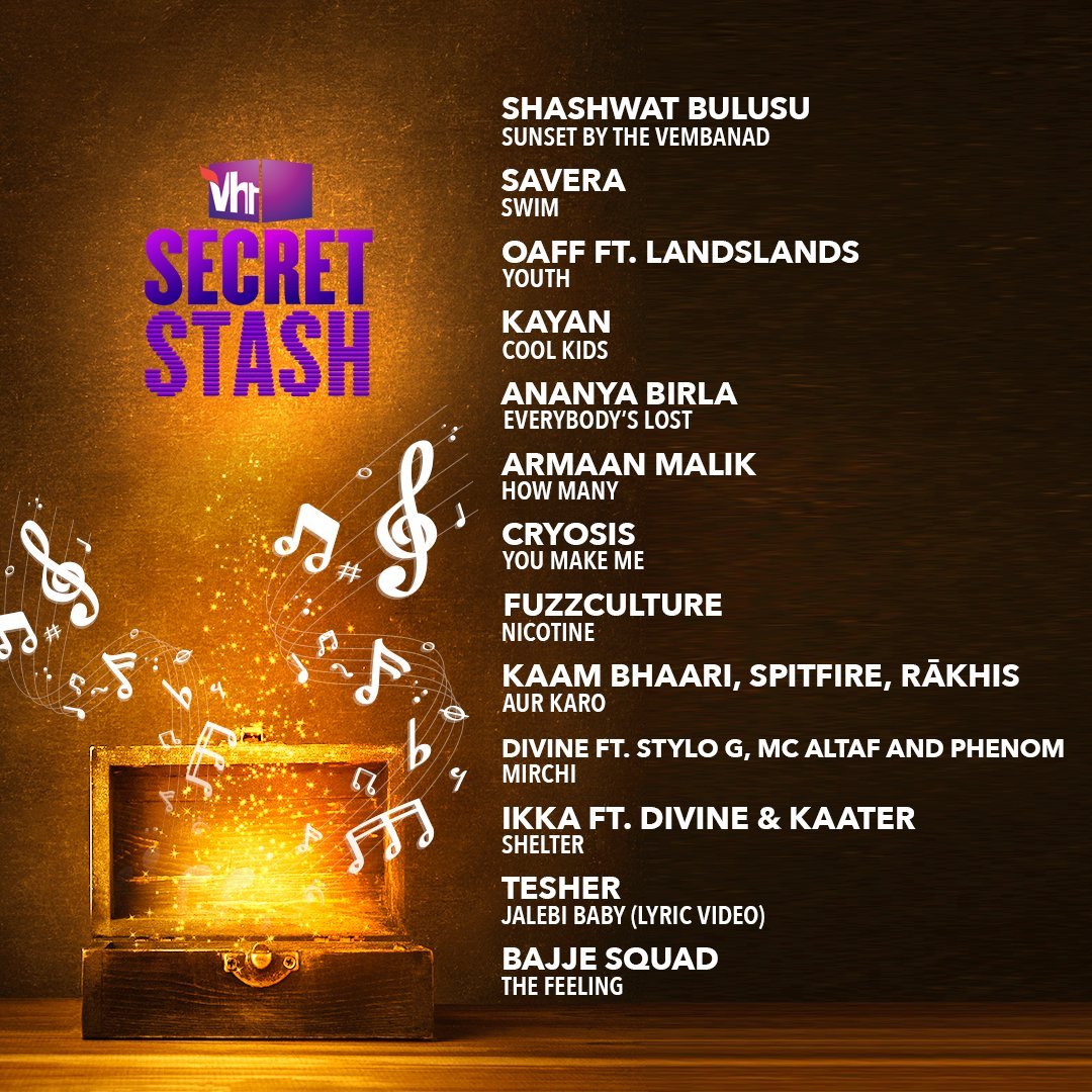 We're letting you in on our secret playlist 'India Rules'.   Tune-in to #Vh1SecretStash & enjoy an exclusive collection of hits by Indian artists, only on #Vh1India.   #GetWithIt