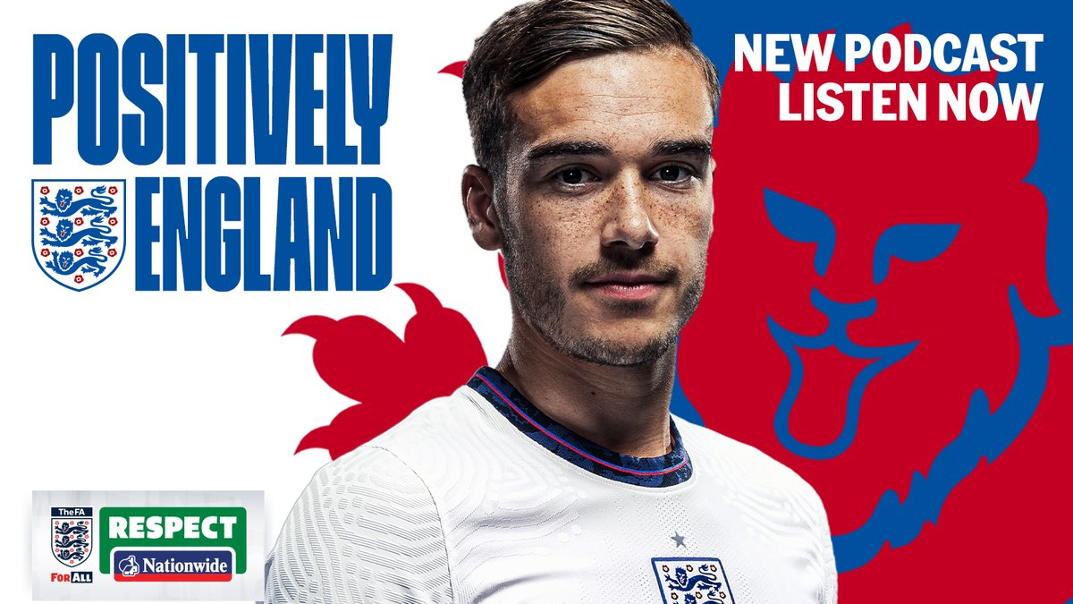 🎙️ POSITIVELY ENGLAND | EPISODE 3 🔗   Listen to the latest installment of #PositivelyEngland, a brand-new podcast with the #ThreeLions and #Lionesses as part of the @FA's 21 Days of Positivity.  This episode features @England's @HarryWinks ⚽