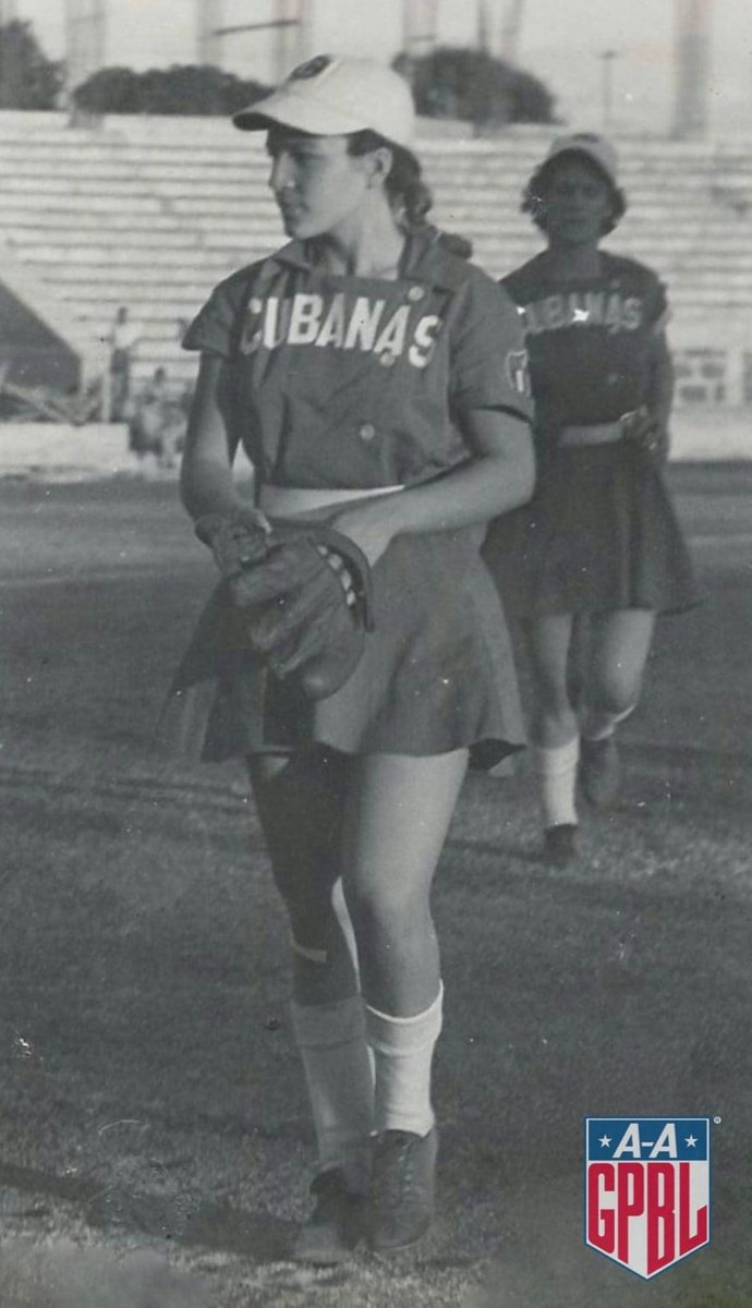 Mirtha Marrero Fernandez was 1 of 6 Cuban players to play in the #AAGPBL. Mirtha was a pitcher for 6 seasons. Her most productive season was in 1951 with Ft. Wayne, when she went 17-8 with a 2.24 ERA in 29 appearances. She was inducted into the Cuban Sports Hall of Fame in 2010.