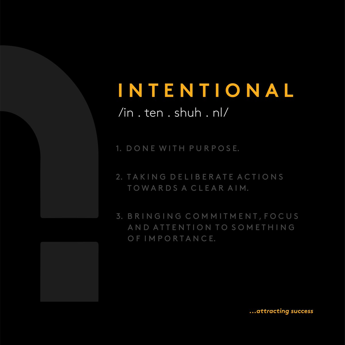 Where intention goes, energy flows⚡ #mondaythoughts #MondayMotivation #startup #entrepreneurs #businessowner #success