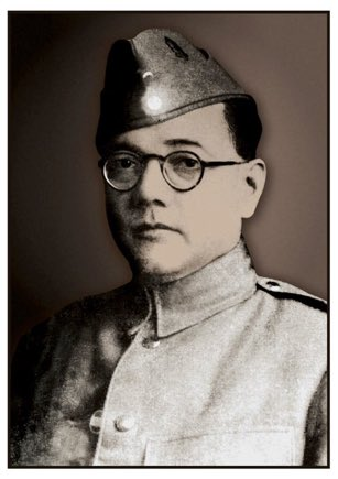 The original Netaji photo based on which artist Paresh Maity made the portrait. Should end the controversy that wasnt🙏