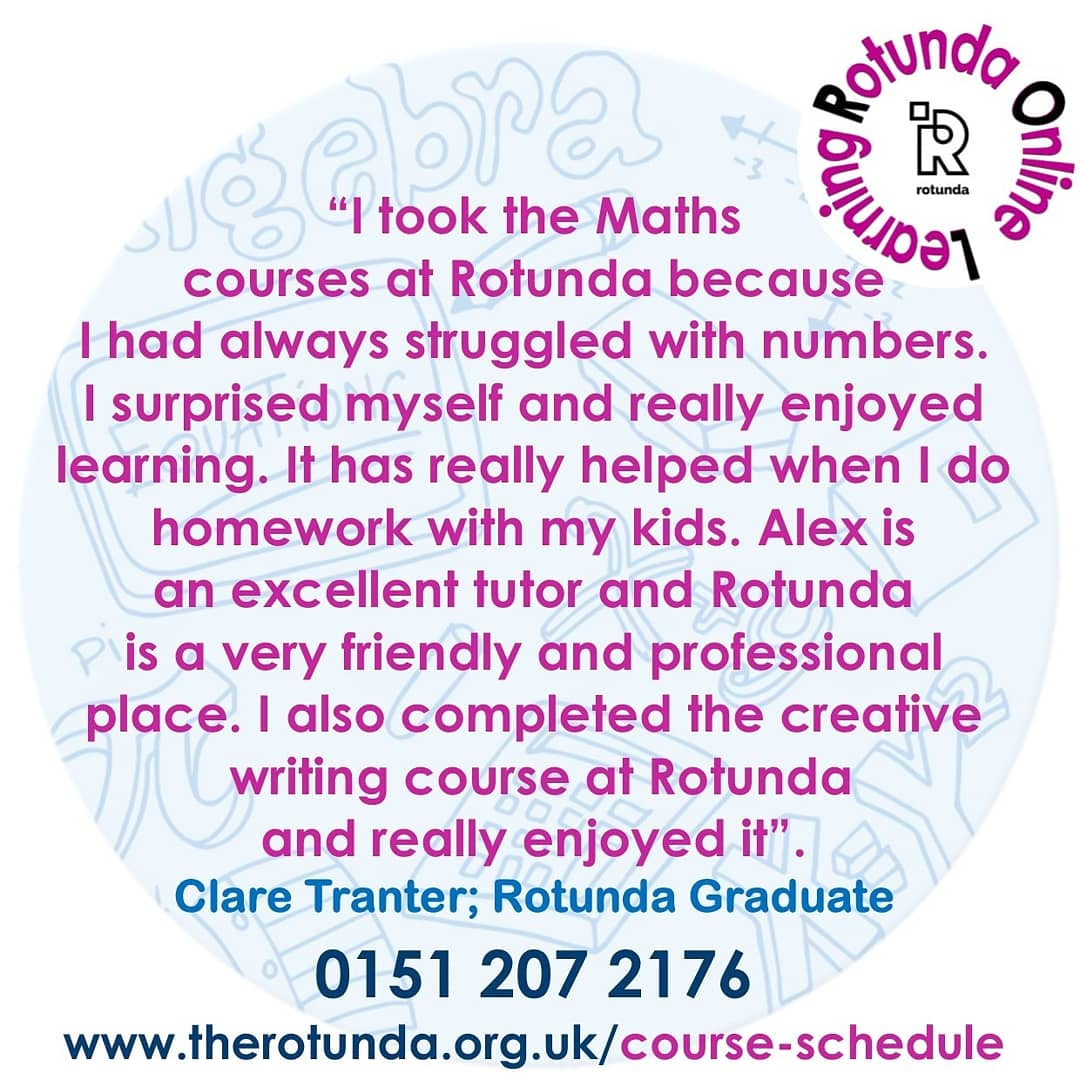 Do you need to brush up on your maths skills?  Try our online free course that fits in with your commitments  Book yourself onto a FREE* flexible course for adults 19+ & learn online in your own time.  APPLY TODAY: 📞01512072176 💻  #maths #MondayMotivation