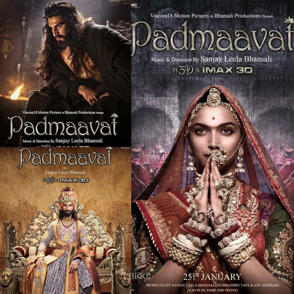 Celebrating 3 years of this saga! Which if these is your favorite character?  #3yearsofPadmaavat #DeepikaPadukone #RanveerSingh #ShahidKapoor #Cinepolis #CinepolisIndia