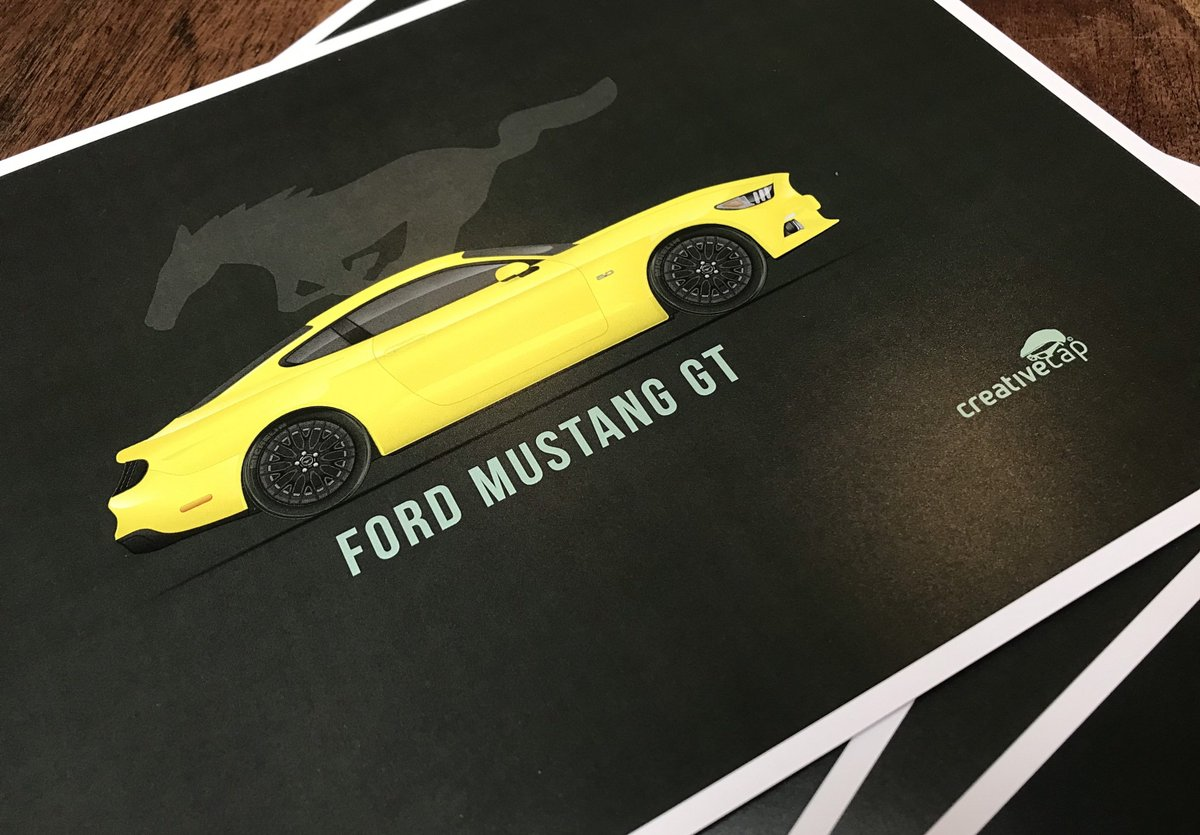 Mustang Mondays…  #etsy #ford #fordmustang #fordmustanggt #musclecar #fordmustanggt500 #mustang #mustanggt #v8 #fordperformance #fords #mustangv8 #fordracing #classiccars #mustangs #musclecars #usa #america #fordusa #graphicdesign #illustration