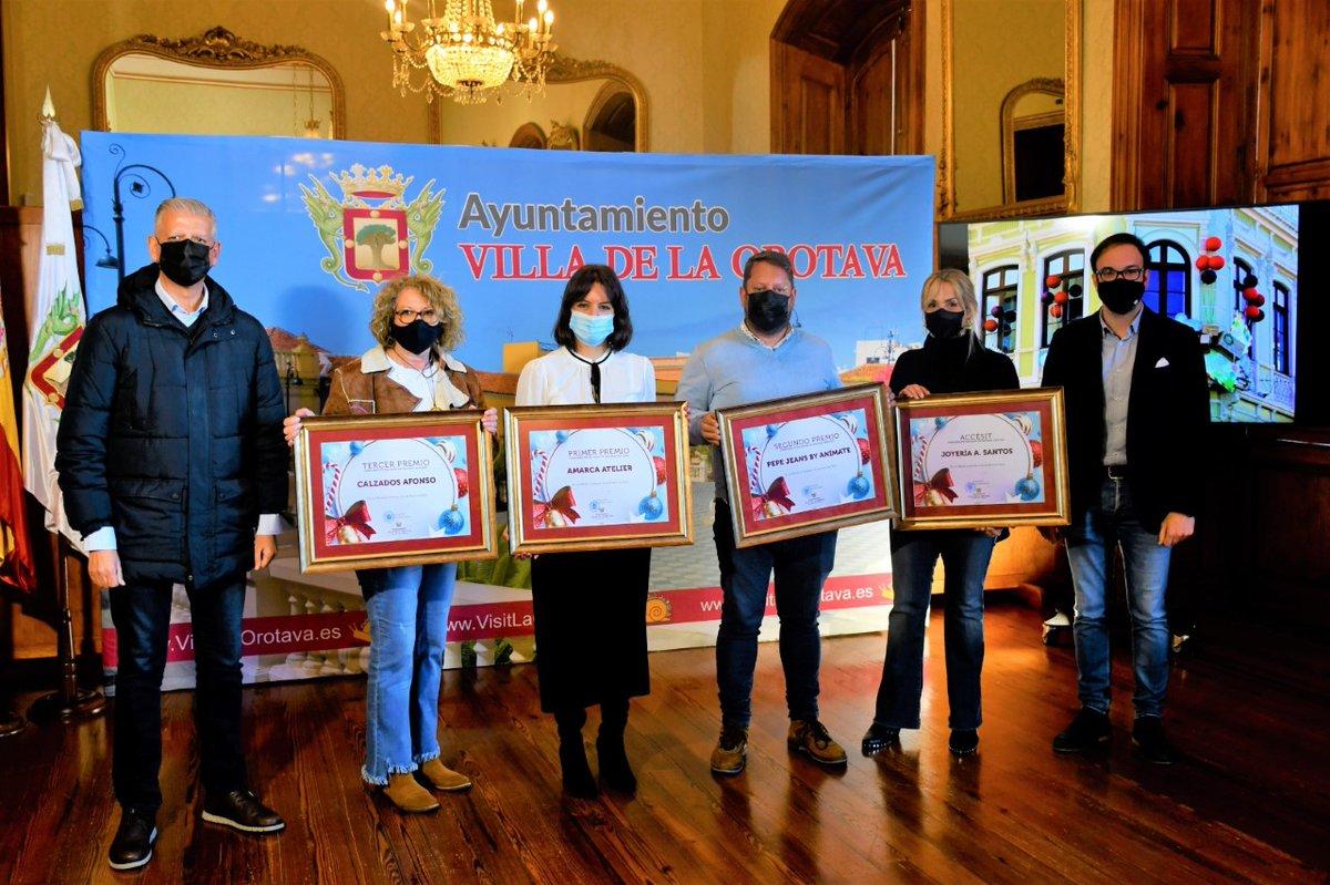 #AmarcaAtelier y #FloristeríaLibélula, ganadores en el concurso de #fachadasyescaparates #Navidad2020 en #LaOrotava Leer más...➡️