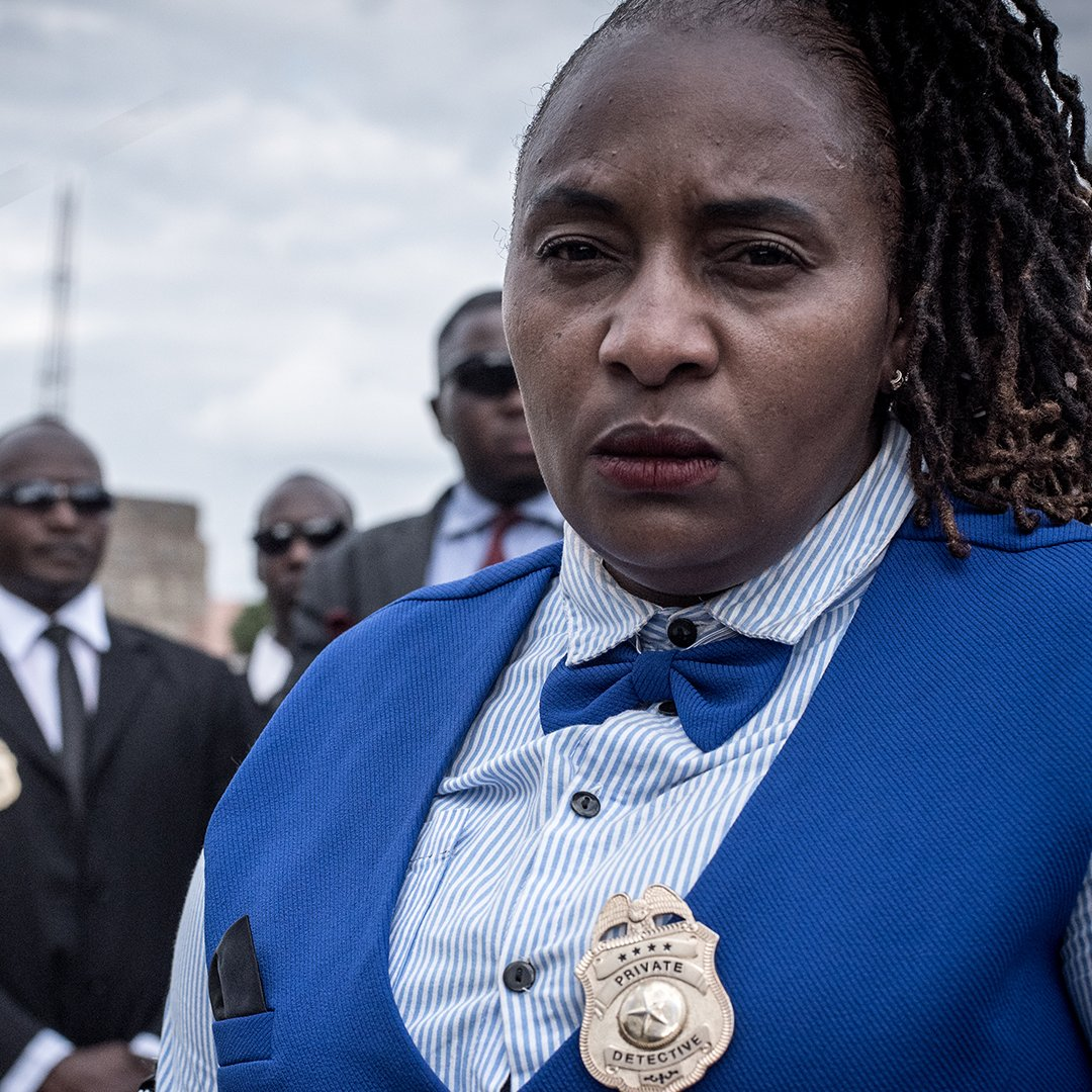 """🇰🇪 With police widely mistrusted in Kenya, many people are turning to private detectives to solve crimes.   None is more famous, or controversial, than Jane Mugo.🕵️♀️  Meet """"Kenya's Spy Queen""""   Watch the full film here 🔎:   #BBCAfricaEye"""