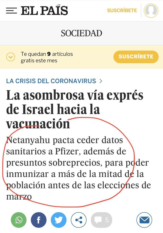 Resultado de imagen de La asombrosa vía exprés de Israel hacia la vacunación