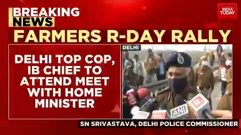 Home Minister #AmitShah to hold key meeting over farmers rally at 5 PM. #ITVideo