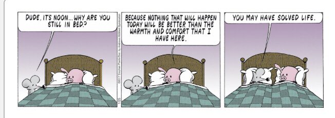 Three panels perfect for a #MondayMorning (and every other morning, really.) Thank you @stephanpastis