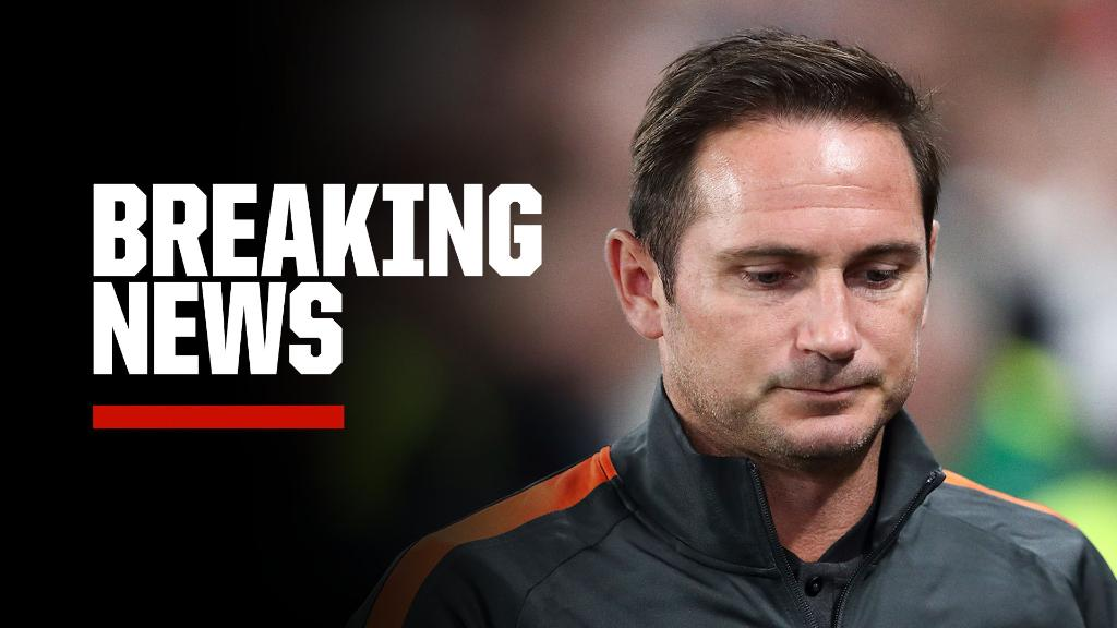 Replying to @ESPNFC: Breaking: Chelsea confirm they have sacked Frank Lampard.