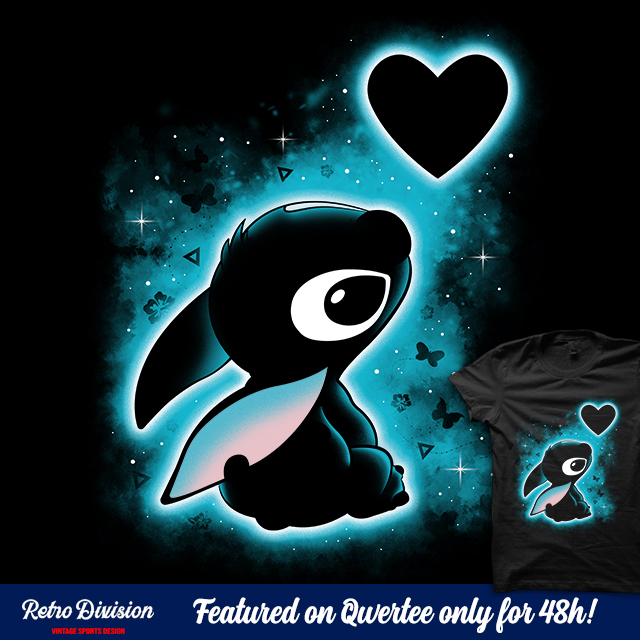 """""""Aloha means love"""" is featured @qwertee for 48h! Grab yours now!  #valentine #sanvalentin #camiseta #shirt #tshirt #maglia #love #aloha #ohana #stitch #cute #kawaii #chibi #giftidea #valentinesgift #regalo#design #valentinesday #designer #teedesign #wiwt #musthave #trending #amor"""