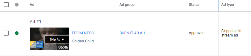 [AD UPDATE]  The campaigns that we put are now approved.   #GoldenChild #YES_GOLCHA_BURN_IT #골든차일드_가요계를_Burn_It #골든차일드 @GoldenChild