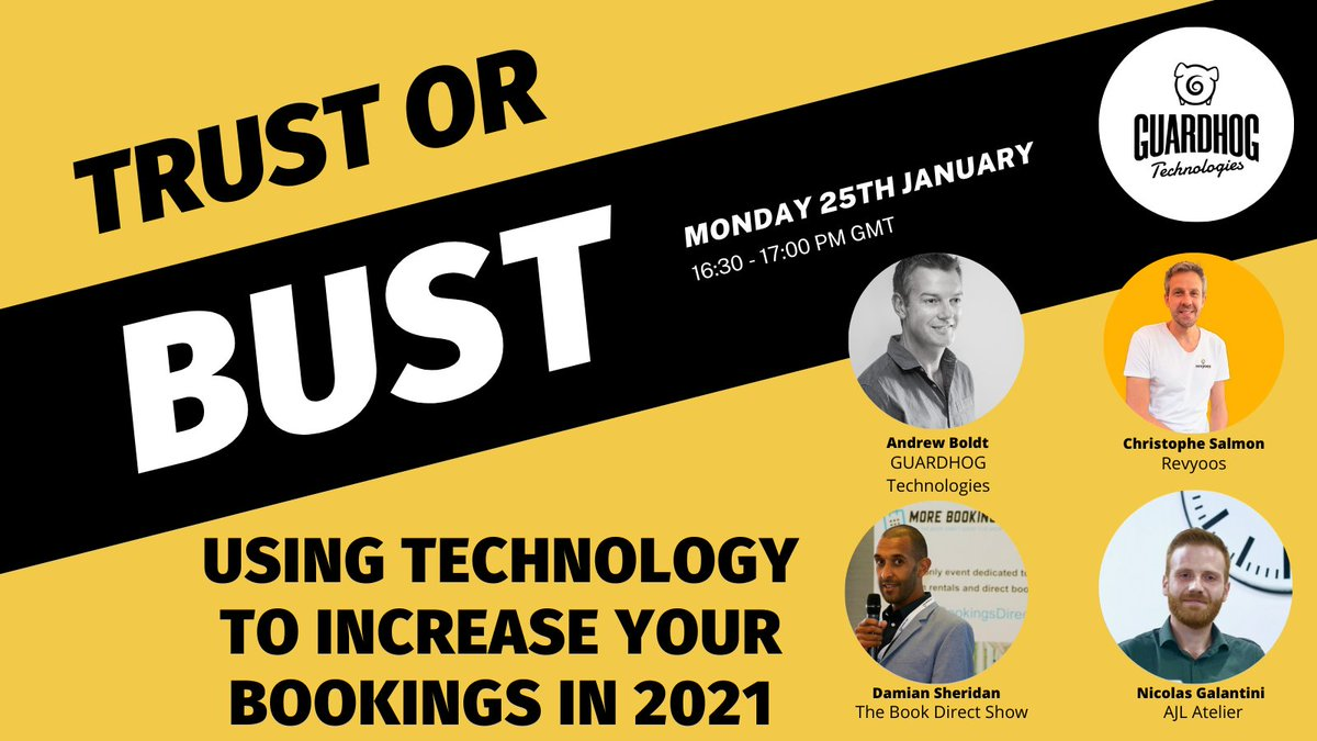 Don't worry, you still have time to register for our trust or bust panel session at 16:30GMT about #tech and the #sharingeconomy    #MondayMotivation #mondaythoughts #MondayMorning #vacationrentals #propertymanagement #holidayhomes #propertymanager #trust