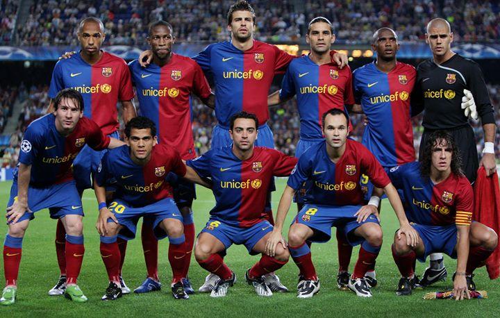 𝙓𝙖𝙫𝙞 y esta generación del @FCBarcelona_es 😍😍  🤔 ¿Tus favoritos?  #UCL