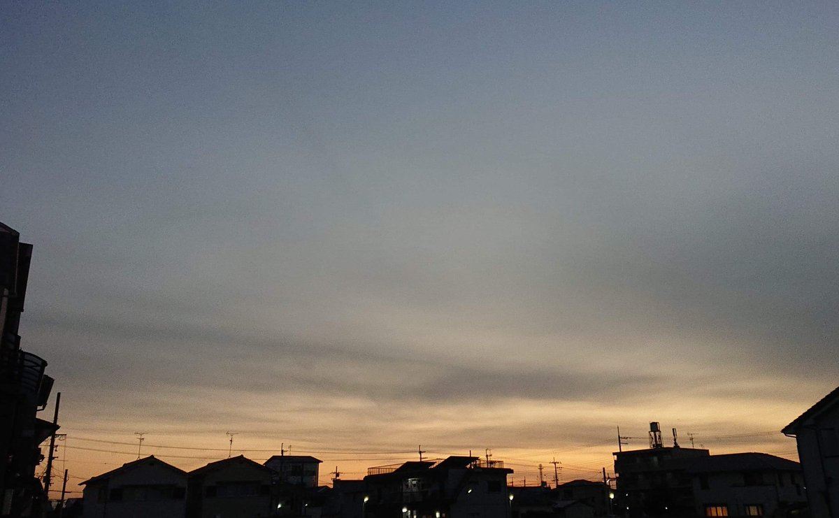 今日2021年1月25日(月)北関東以北では震源が深く、南西諸島付近では震源が浅いが、いずれもM5前後の揺れだ😓プレート間地震なのか😨次の満月29日(金)前後まで引き続き要警戒⚠️写真は大阪からの夕焼け空🌆 #地震 #earthquake #プレート #tectonicplate #満月 #fullmoon #日本 #Japan #夕焼け #sunset