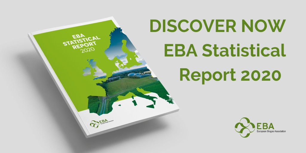 Are you seeking to understand the role of renewable gases in the future energy mix and the status of our industry in Europe?   Read the EBA Statistical Report 2020👉https://t.co/r3TtilezpA https://t.co/rGWG6WOku1