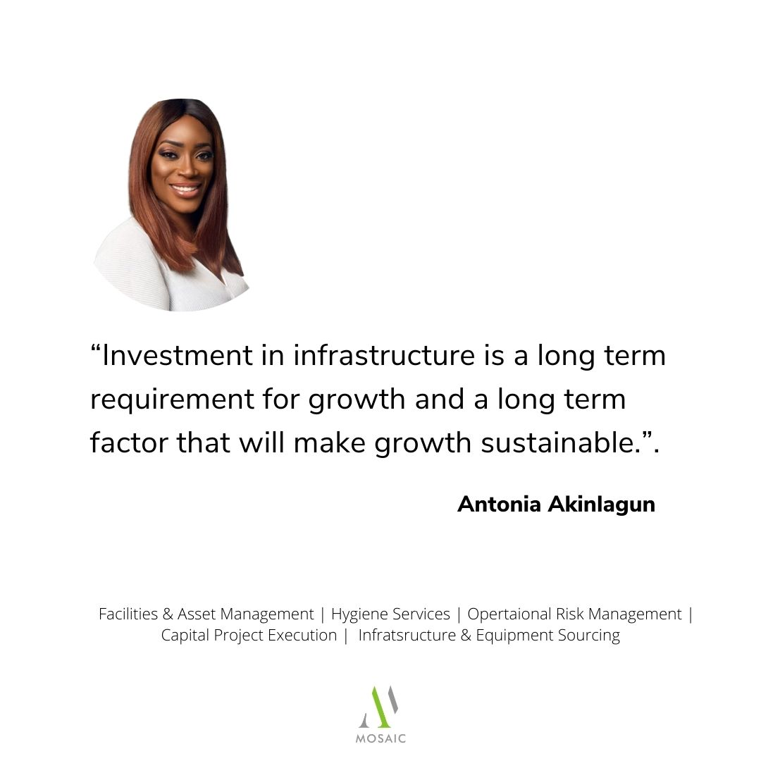 Investment in infrastructure is a long term requirement for growth and a long term factor that will make growth sustainable.  #MondayMotivation #mondaythoughts #MondayVibes #realestate #ivestment #infrastructure #services #lagos #Nigeria