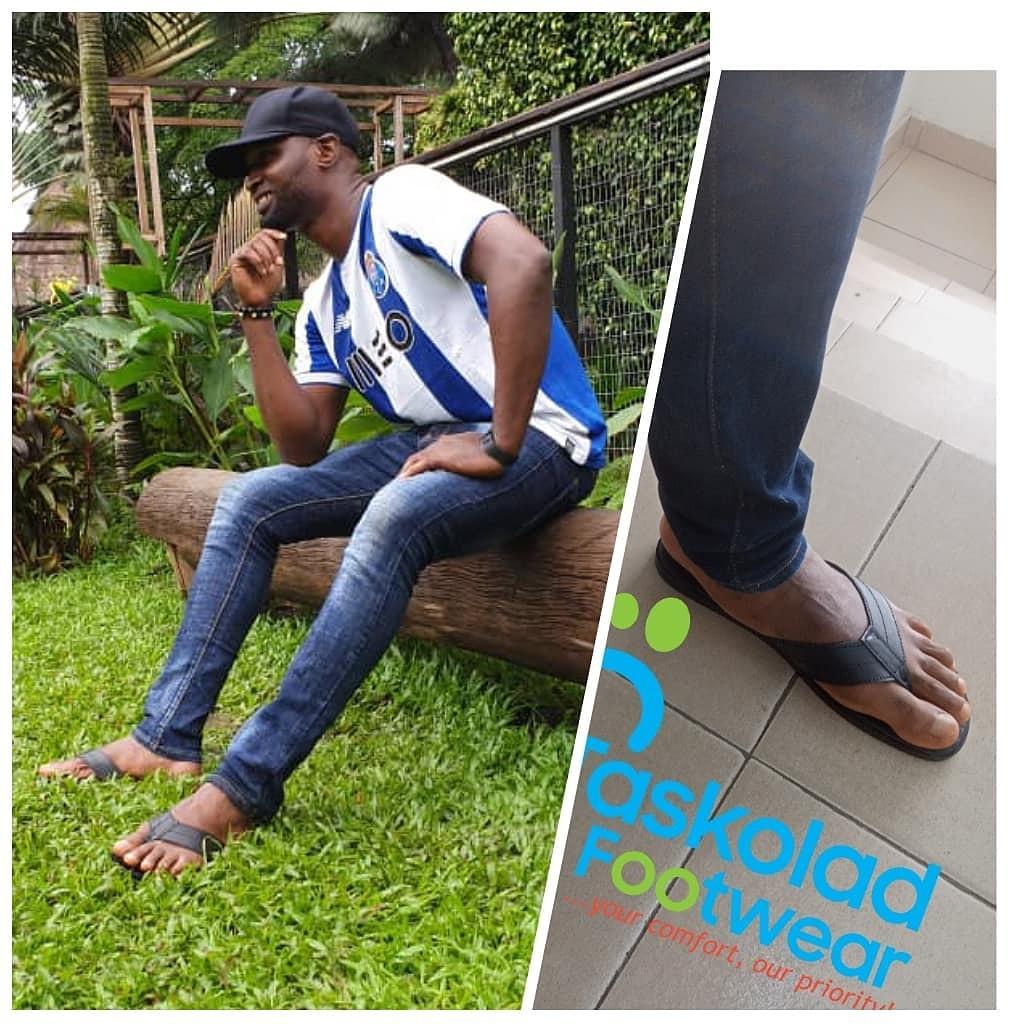 Meet our Man Crush Monday  Thanks for rocking taskolad footwears sir @koomatama4life   #mcm #mancrush #footwearinlagos #footwearaddict #crushoftheweek #madeinnigeriafooties #MondayVibes #MondayMotivation #mondaythoughts #MondayMorning #taskoladfootwear