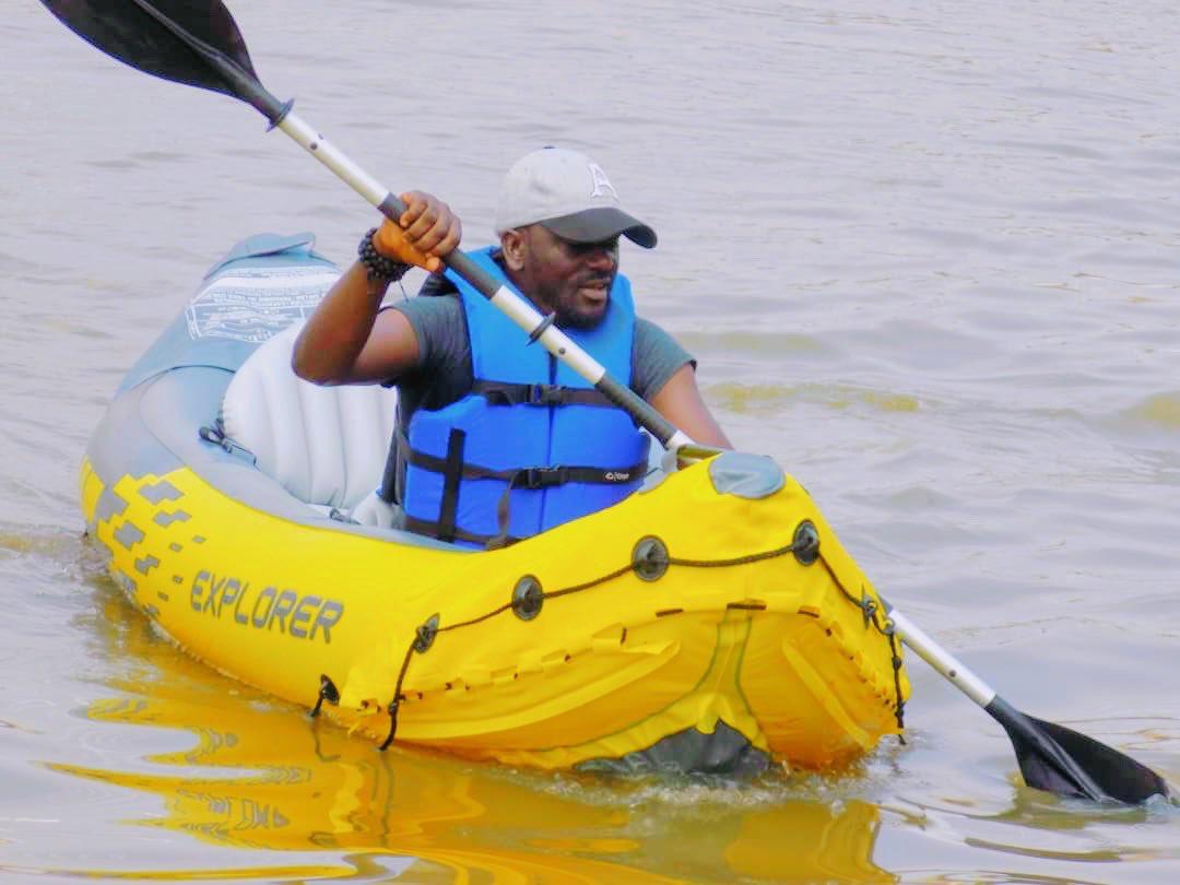 Keep calm and paddle on.  #kayaks #explore #camping #kayakadventures #lake #photography #kayakers #kayakgram #surf #kayakbassfishing #ocean #outdoor #kajak #sunset #paddleboard #kayakangler #canoesport #lekki #standuppaddle #fishinglife #largemouthbass #getoutside