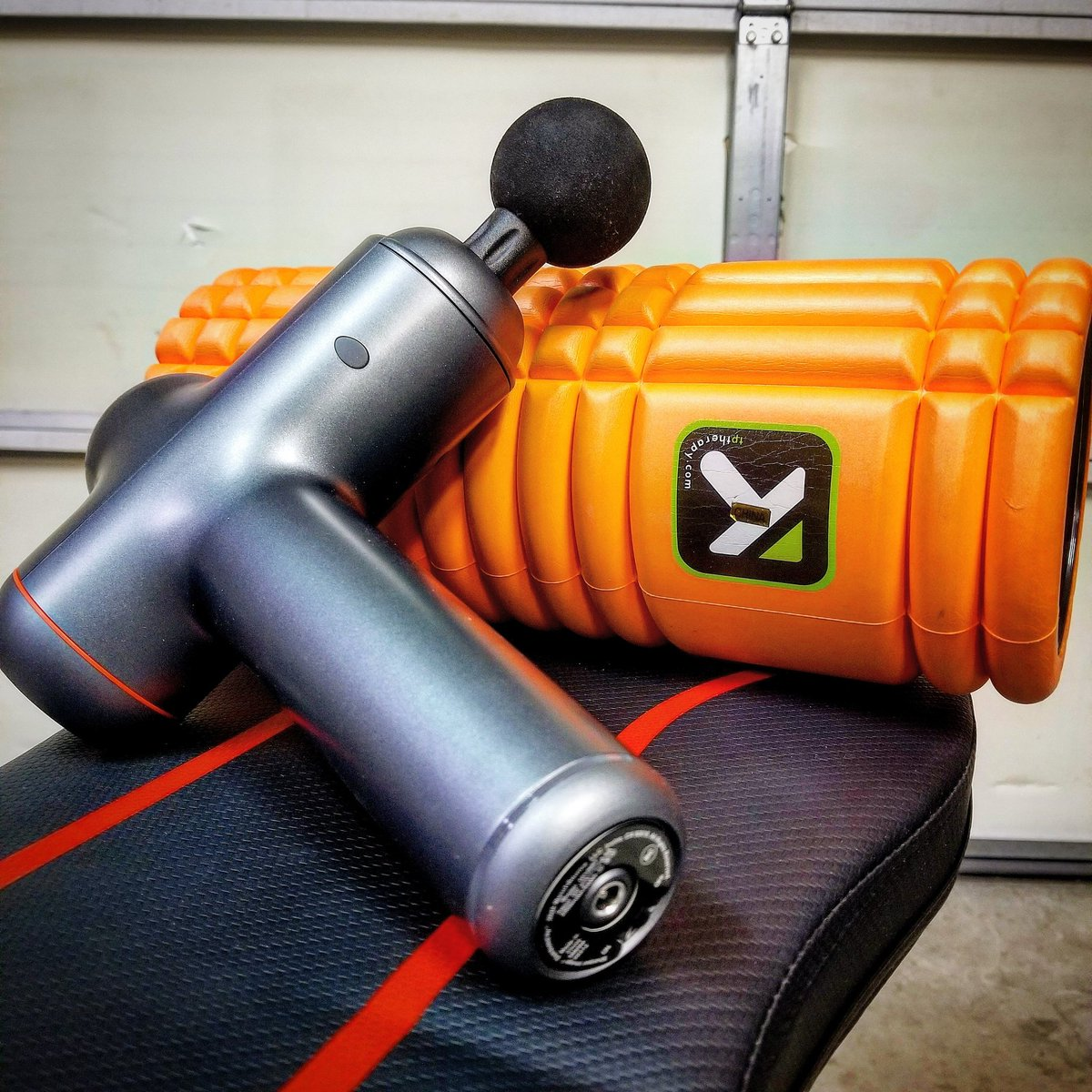 New level of workouts require a new level of recovery. 💪🏽  #RecoveryDay #Recovery #SMR #TriggerPoint #Workout #Fitness  #MotivationMonday