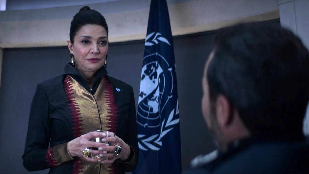 THIS WEEK ON...THE EXPANSE: Amos and Clarissa find hope and danger in the same place. Avasarala makes a choice that could affect the entire UN. The Rocinante and the Razorback race to save Naomi.