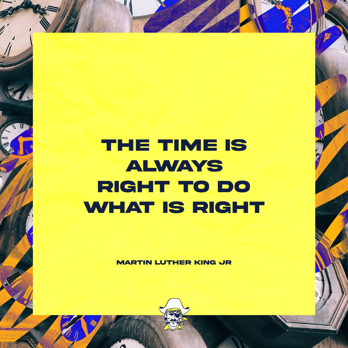 Today is a great day to do the right thing! #CrookstonPirates #MondayMotivation