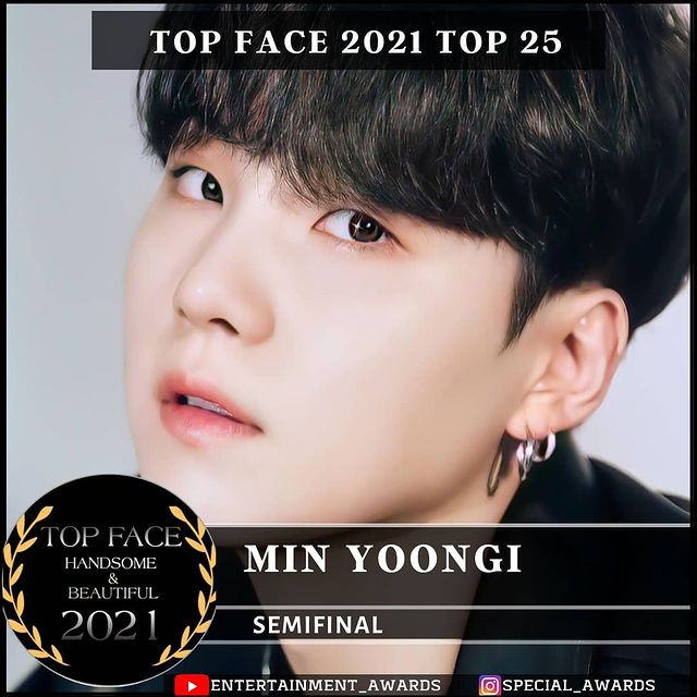 📌#VOTE Top Face 2021   I vote #minyoongi from @bts_twt for #topface2021""