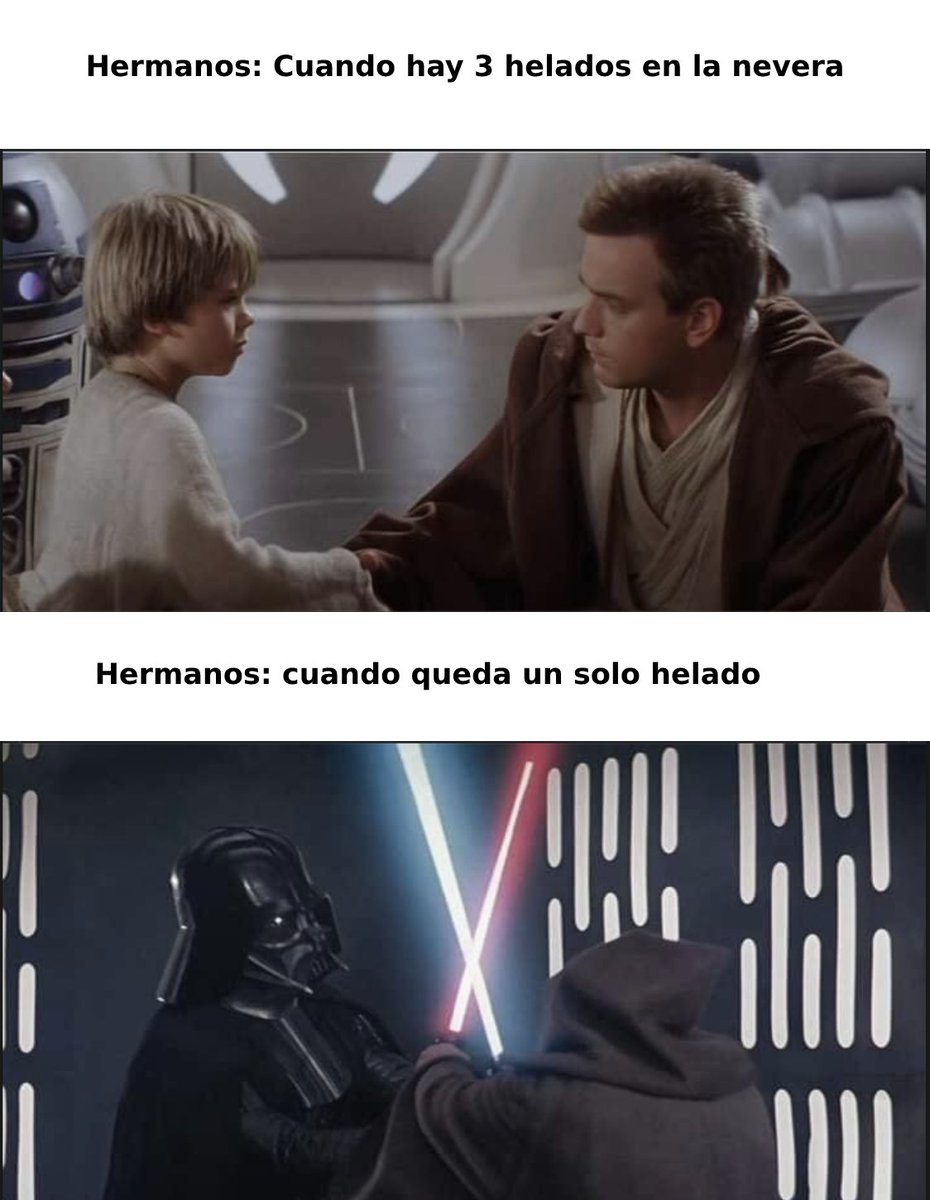 Un poco de humor para alegrar e #Lunes  a todos 🤣  #starwars #ObiWan #Memes #memes2021 #memesespanol #LunesDeGanarSeguidores #FelizLunes #anakin #anakinskywalker #videojuegos #juegos #gamers #Latinoamerica