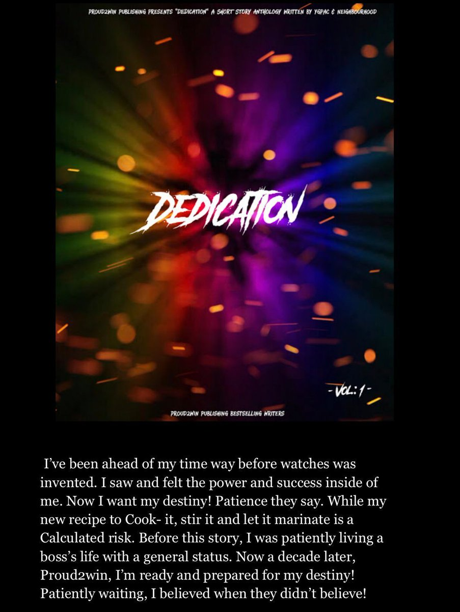Your 🆕 great read! 📕  DEDICATION 🕯✍🏻  VIEW MORE #FREE here:   #MondayMotivation #MondayMorning #mondaythoughts #mondayinspiration #MondayVibes #IndieBooksBeSeen #Entrepreneur #amreading #WritingCommunity #successstory #COVID20 #UKlockdown #StayAtHome