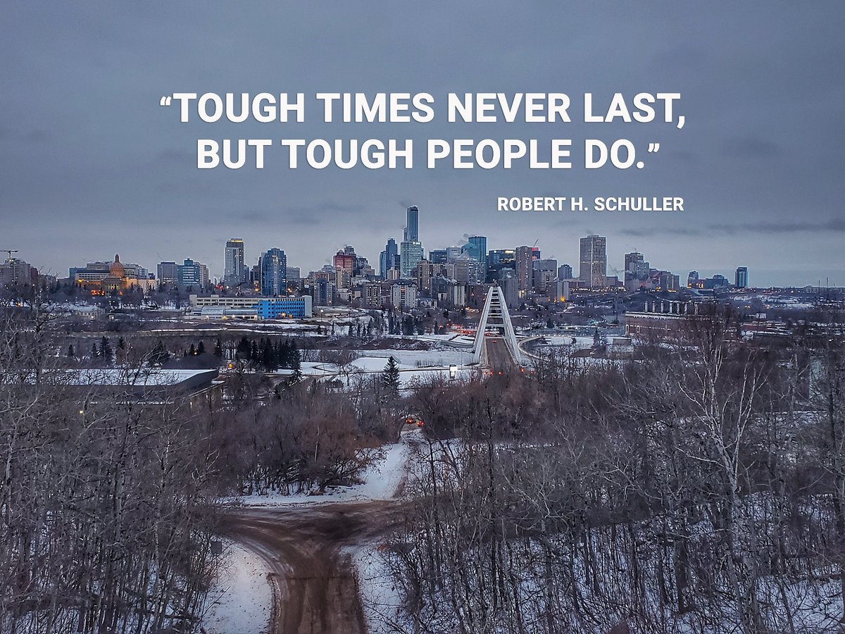 This quote is a great reminder that tough people always prevail! #yeg #yegbiz #MondayMotivation