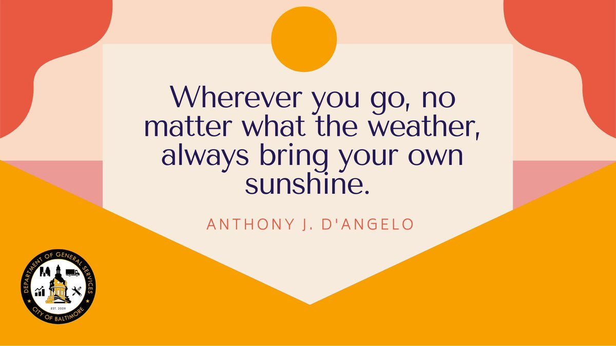 Happy Monday and remember to stay warm, #Baltimore! #MondayMotivation