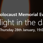 Image for the Tweet beginning: Bury's Holocaust Memorial Event takes