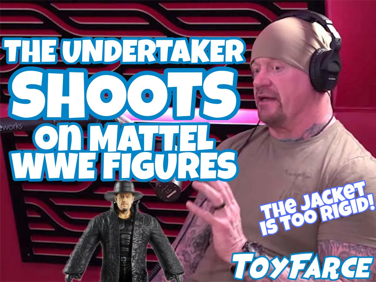BREAKING NEWS: THE UNDERTAKER SHOOTS ON MATTEL WWE FIGURES!   #toyfarce #mattel #wwe #wweelite #undertaker #theundertaker #undertaker30 #wwefigures #wrestlingfigures #wweuniverse #phenom #deadman #actionfigures #toys #collectibles #toycollector