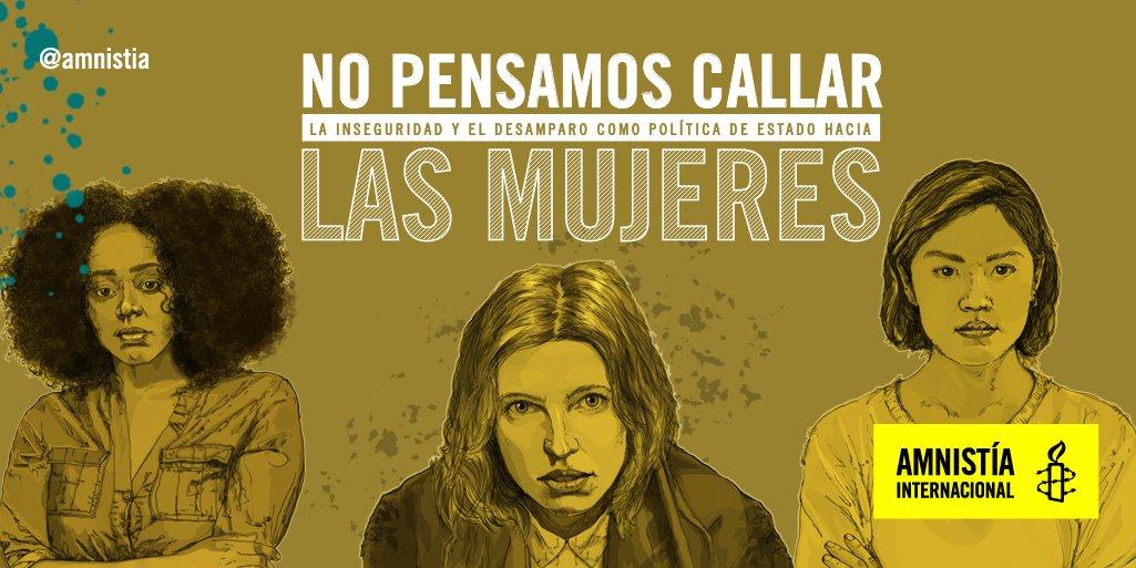 «Revista No Pensamos Callar: La inseguridad y el desamparo como política de Estado hacia las Mujeres»   Felicidades a @Miaulanie_ @taligan @LaTuristaKAM por maravilloso trabajo.   Vía @RedMujeres_AI @amnistia  #Mujeres #DDHH #Venezuela  ⬇ Descarga