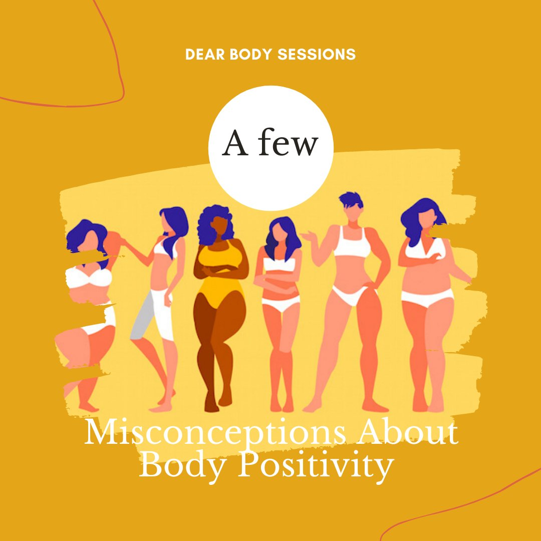 #BodyPositivity is a broad topic that many people misunderstand especially now when it has become diluted by social media, pop and diet culture. Here are some misconceptions from my latest post. Get all the misconceptions here👇🏿: