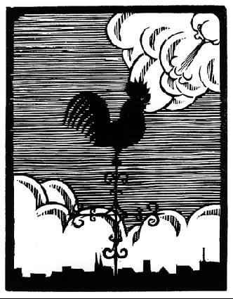 Flor de Pascua - The Weathercock, 1921 #mcescher #escher