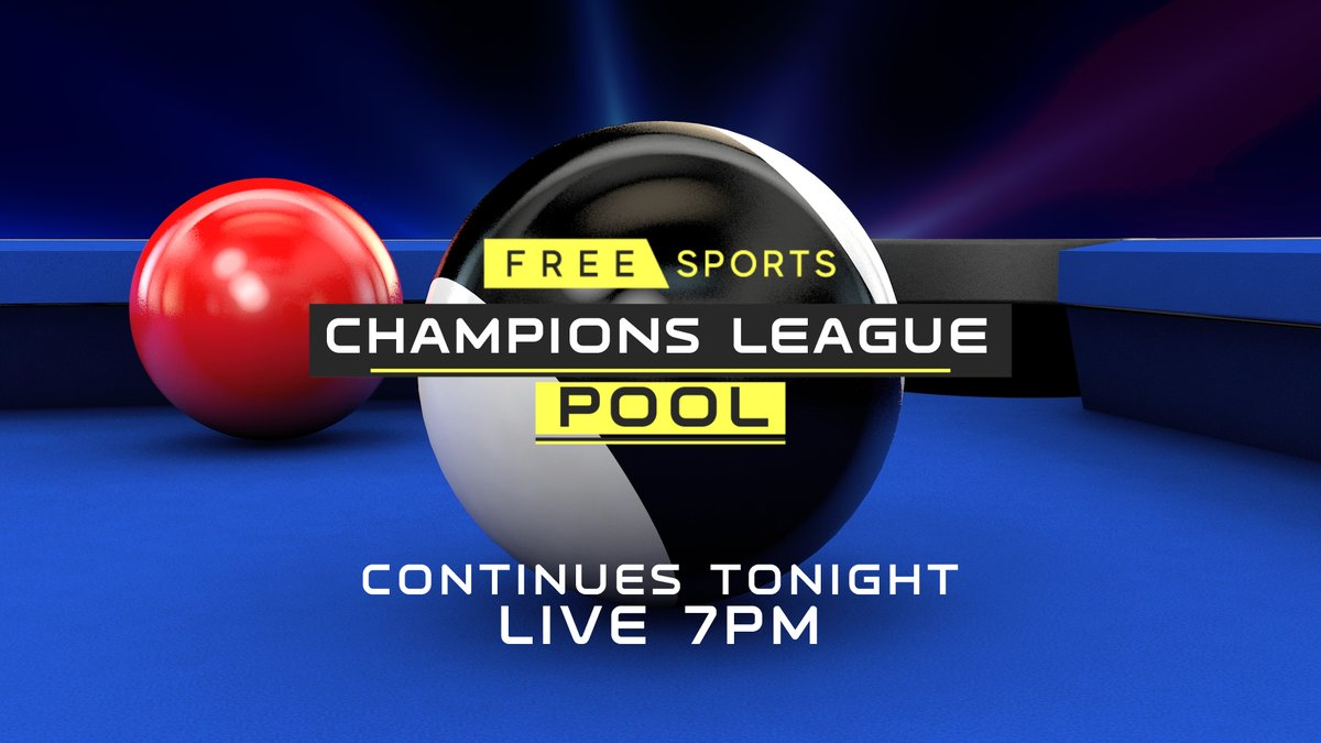 Live Pool NOW on FreeSports 🎱  📺 Join us for another huge evening of 𝗖𝗵𝗮𝗺𝗽𝗶𝗼𝗻𝘀 𝗟𝗲𝗮𝗴𝘂𝗲 𝗣𝗼𝗼𝗹