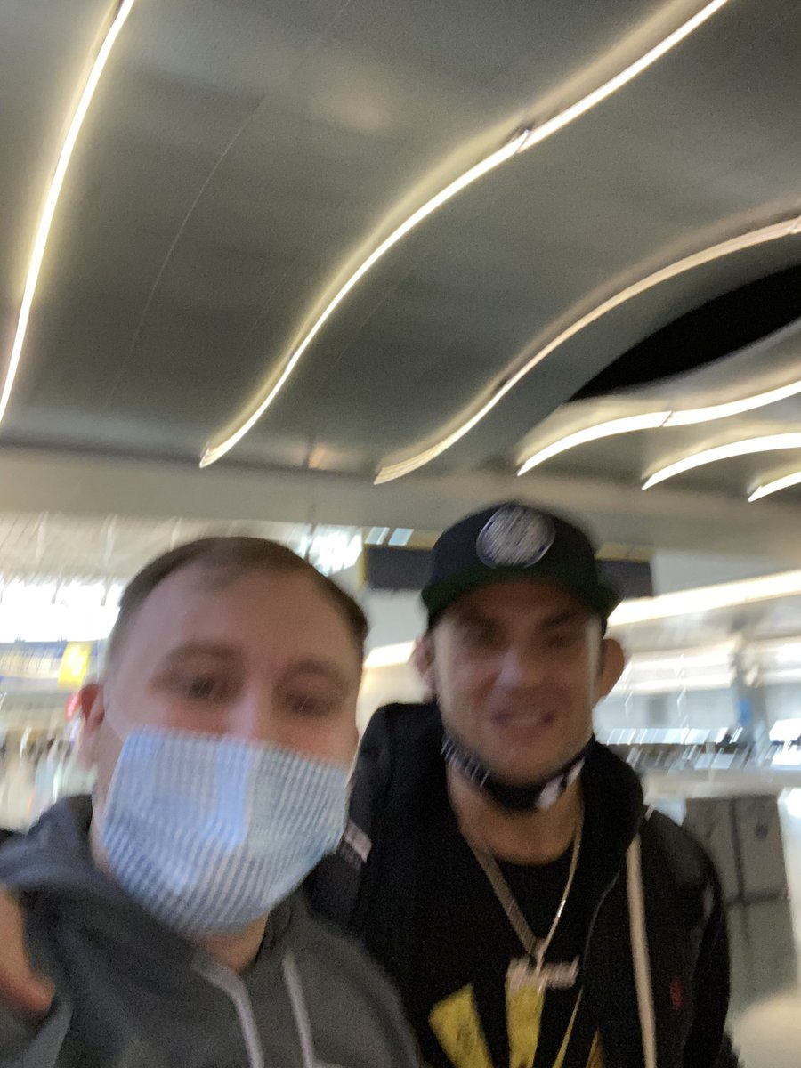 Replying to @jcoco95: RAN INTO THE UNCROWNED CHAMP @DustinPoirier